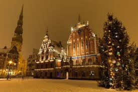 First Decorated Christmas Tree Latvia by Traditional Festivities Latvia Eu