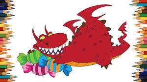 dragon coloring pages kids dragon coloring book 04