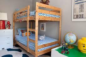 Bunk Beds Pine Pine Bunk Beds Transitional Boy S Room