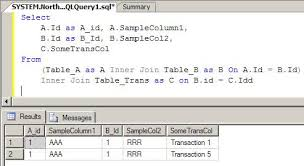 sql select from multiple tables understanding table joins using sql codeproject