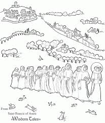 All Saints Day Coloring Page 579927 Saints Colouring Pages
