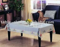 Cover Coffee Table Pvc Coffee Table Cloth Plastic Table Cover Printed Tablecloth Gf
