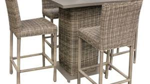 High Bistro Table Set Outdoor Decor Of Patio Furniture Table And Chairs Home Decorating With