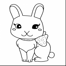 outstanding cute baby bunny coloring pages with rabbit coloring
