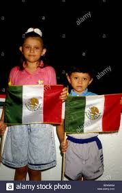 Jalisco Flag Mexicans Mexican Mexican Boy Brother And Sister Holding