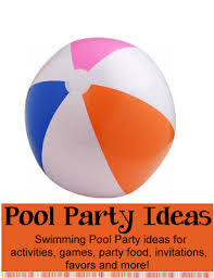 Pool Party Decoration Ideas Pool Party Theme Birthday Party Ideas For Kids