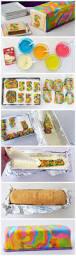diy rainbow tie dye surprise cake tutorial diy tag yum