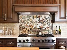 Traditional Kitchen Backsplash Ideas Glass Tile Backsplash Ideas Traditional Kitchen By Blue Sky