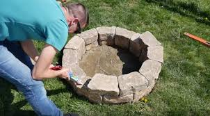 Cool Firepit How To Build A Beautiful Diy Pit For Cool Nights Outside