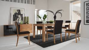 Contemporary Dining Room Decor Contemporary Dining Table Set For Minimalist Small Penthouse