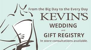 bridal registry from the big day to every day kevin s bridal registry