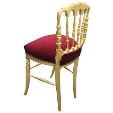 chaise dor e chaises napoleon stunning chaise napoleon iii en bois noirci