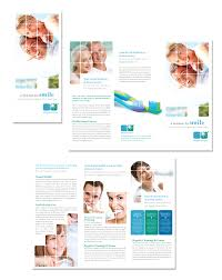 office brochure templates dentistry dental office tri fold brochure template
