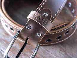Handmade Belts And Buckles - modish s handmade brown leather belts gifts for
