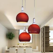 Purple Pendant Light Affordable Purple Glass Shade E27 Screw Base 3 Light Pendant Light