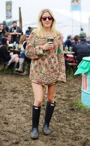 Style Ellie Goulding Ellie Goulding And Chung Stay Glamorous At Glastonbury As The