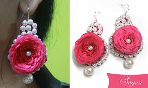 real flower bridal jewelry jewels of sayuri