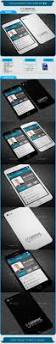 iphone business card template v 4 card templates business cards
