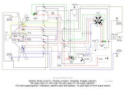 basic vespa 12v wire diagram vespa px wiring diagram vespa image