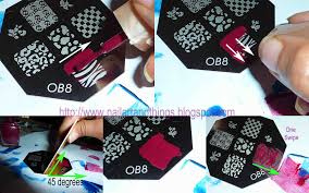 nailart and things stamping nail art tutorial tips