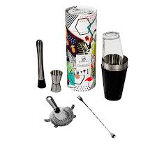 cocktail shaker set cocktail shaker set by banamu bosten shaker gin around the world