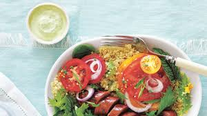tomatoes with sausage and green goddess dressing recipe health