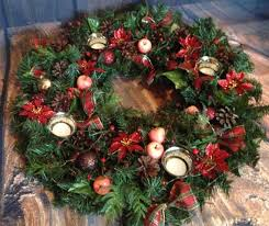 traditional german advent wreath an advents kranz to count the