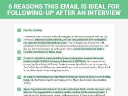 follow up email sample after sending resume 6 reasons this is the perfect thank you letter to send after a job 6 reasons this is the perfect thank you letter to send after a job interview business insider