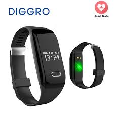heart monitor bracelet iphone images Smart band diggro h3 heart rate monitor activity fitness tracker jpg