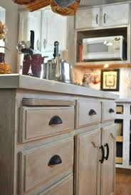 stain kitchen cabinets antique white staining oak before and after