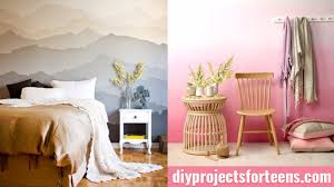 Cool Ways To Paint Walls DIY Projects For Teens - Cool designs for bedrooms