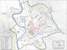 Map Customizer Map Of Ancient Rome With The The City Monuments