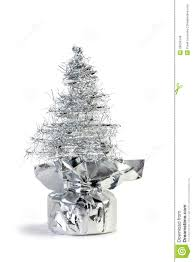 artificial silver tree lights decoration