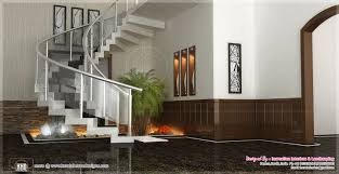 sunken seating and other home interior ideas kerala home design