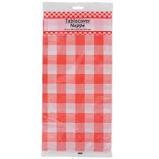 bulk assorted gingham plastic table covers at dollartree