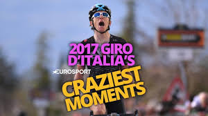 2017 Giro D U0027italia Live by Video Top 5 Craziest Moments Of The 2017 Giro D U0027italia Giro D
