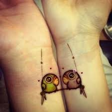 tattoos for you and your bff old telephones guff