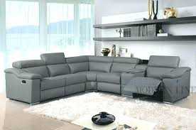 Sectional Reclining Sofas Leather Leather Sectional Recliner Sofas S S Black Leather Recliner Sofa