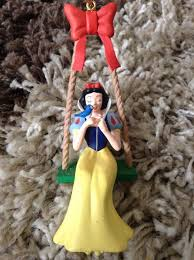 disney grolier snow white christmas tree decoration in