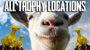 goat simulator all trophy locations guide youtube