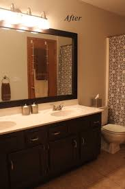 Repainting Bathroom Cabinets Bathroom Cabinets After Painting Bathroom Vanity Best Paint For