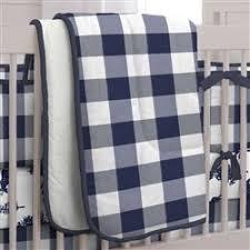 Navy Buffalo Check Curtains Navy Buffalo Check Crib Bedding Carousel Designs