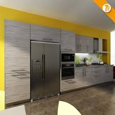 Days Delivery Blum Hardware Wood Grain Laminate Kitchen Cabinet - Blum kitchen cabinets