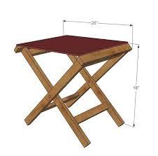 mesmerizing wood folding chair plans desk plans wood folding sling chair plans