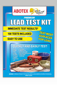 Lead Bathtub Lead Test Kit 24 Tests Abotex Lead Inspector Lead Test Kit
