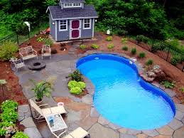 amazing pool landscaping ideas on a budget backyard landscape with