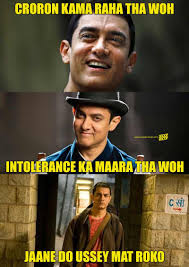 Aamir Khan Memes - aamir khan has been forever hinting at leaving india in his movies