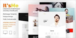 personal portfolio template portfolio joomla templates free u0026 premium themes creative template