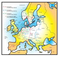 National Parks Road Trip Map Travelling Through Europe In A 1973 Roadrunner Rod Network