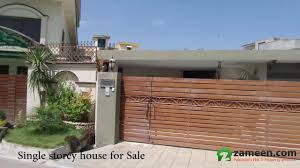 Single Story House Single Storey House Constructed In Dha Phase 1 406 Square Yards